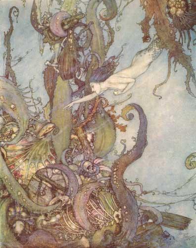 the little mermaid, classic fairy tales