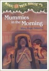 mummies in the morning, magic tree house books