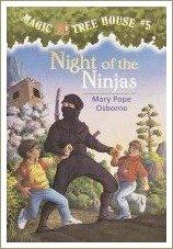 night of the ninjas, magic tree house books
