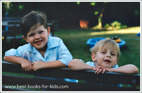 twin boys, books on parenting