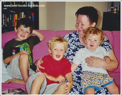 oma and kids