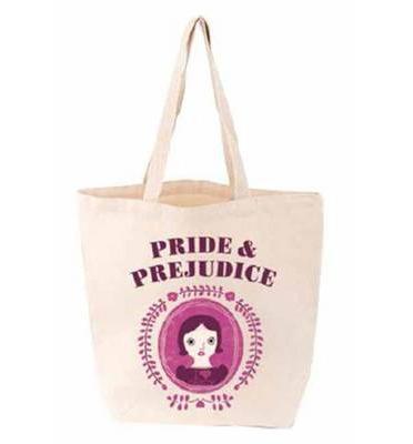 pride and prejudice tote, babylit