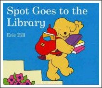 spot goes to the library, eric hill