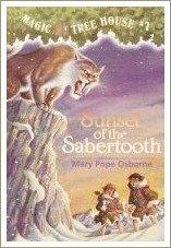 sunset of the sabertooth, magic tree house books