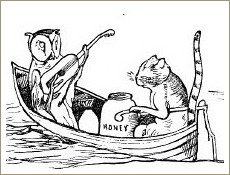 the owl and the pussycat, edward lear