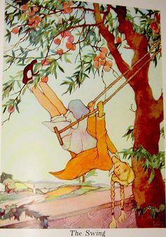 the swing, robert louis stevenson