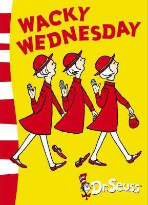 wacky wednesday, dr seuss
